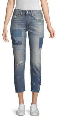 Polo Ralph Lauren The Waverly Straight Crop Jeans