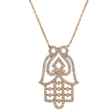 Cosanuova Hamsa Hand Pendant Necklace