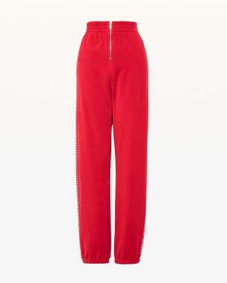 Juicy Couture Swarovski Embellished Velour Jogger Pant