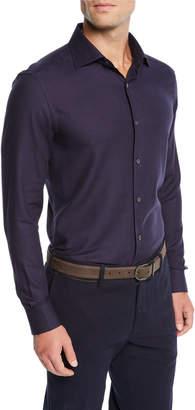 Ermenegildo Zegna Men's Cashmere Sport Shirt