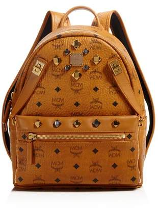 MCM Small Dual Stark Backpack