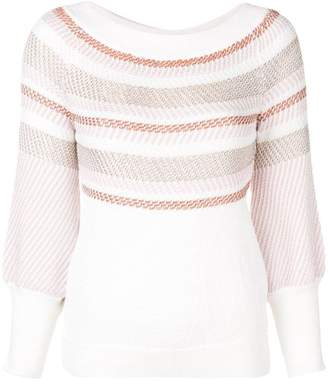 Peter Pilotto striped knitted jumper