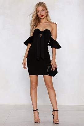Nasty Gal What's Your Best Off-the-Shoulder Dress