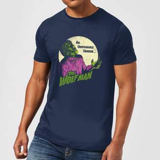 Wolf & Man Universal Monsters The Wolfman Retro Men's T-Shirt