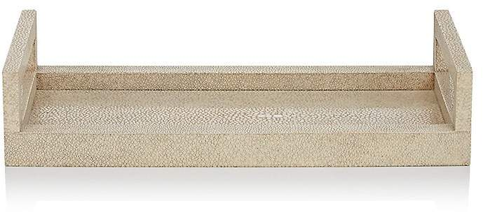 Ginger Brown Shagreen Tray