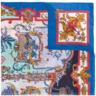 Etro graphic print scarf