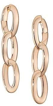 Vhernier Olimpia 18K Rose Gold Link Earrings