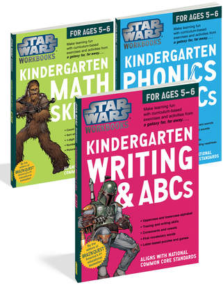 Star Wars Workman Publishing Kindergarten Book Set