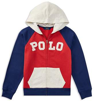 Polo Ralph Lauren Boys' Atlantic Terry Long-Sleeve Hoodie - Big Kid