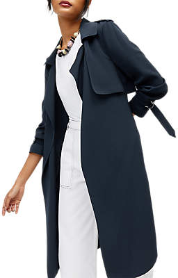 Warehouse Duster Coat, Navy