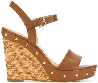 MICHAEL Michael Kors Jill studded wedge sandals