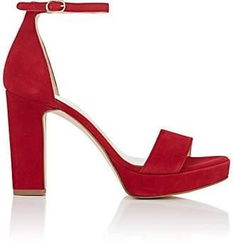 45a4614b898 FiveSeventyFive Women s Suede Ankle-Strap Platform Sandals - Red