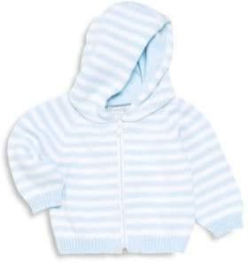 Kissy Kissy Baby Boy's Striped Zip-Front Hoodie