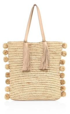 Loeffler Randall Cruise Straw Tote $350 thestylecure.com