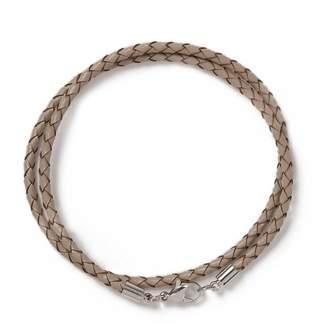 Topman Mens Brown Leather Bracelet*