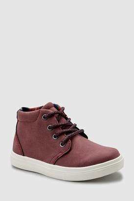 Next Boys Plum Chukka Boots (Younger)