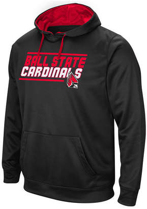 Colosseum Men Ball State Cardinals Stack Performance Hoodie