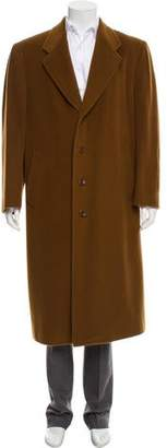 Canali Wool Trench Coat