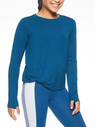Athleta Girl Hip Knot-ic Top