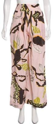 Matthew Williamson Printed Silk Pants