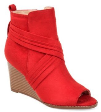 Journee Collection Sabeena Wedge Bootie