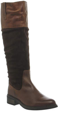 Office Emmett Casual Suede Knee Boots