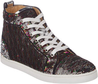 Christian Louboutin Bip Bip Orlato Sequin Sneaker