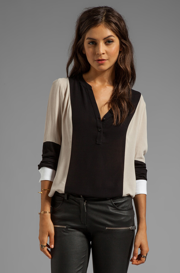 Ella Moss Stella Long Sleeve Top