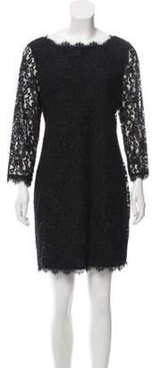 Diane von Furstenberg Guipure Lace Sheath Dress