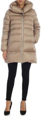 ADD Puffy Neck Hooded Padded Jacket