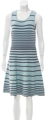 Cynthia Steffe Striped Sleeveless Dress