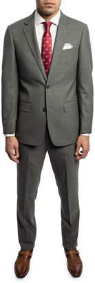 Michael Bastian Men's Slim-Fit Wool Two-Piece Suit with Wide Lapels, Gray