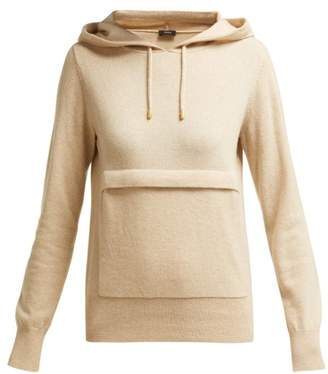 Joseph Mongolian Cashmere Hooded Sweater - Womens - Beige