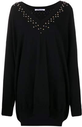 Givenchy embellished long-sleeve sweater