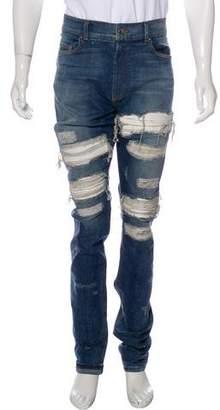 Amiri MX-1 Distressed Skinny Jeans w/ Tags