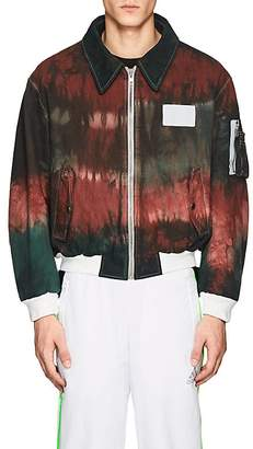 Gosha Rubchinskiy Men's Tie-Dyed Cotton Bomber Jacket