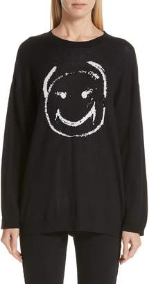 Undercover Face Jacquard Sweater