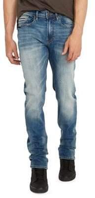 Buffalo David Bitton Straight Leg Six-X Jeans