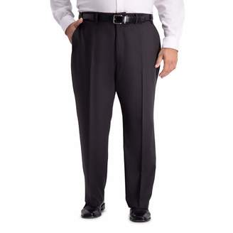 Haggar Men's Big and Tall B&T Active Series Stretch Classic Fit Suit Separate Pant