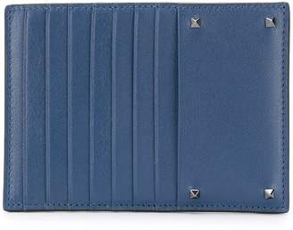 Valentino front zipped wallet