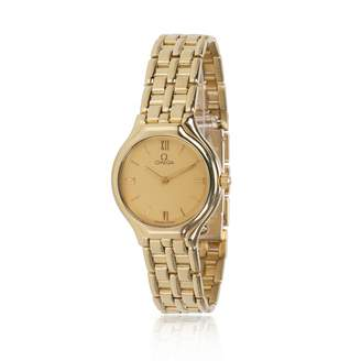 Omega Yellow gold watch