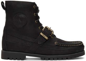 Polo Ralph Lauren Black Ranger Boots