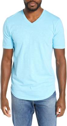 Goodlife Scallop Slub V-Neck T-Shirt