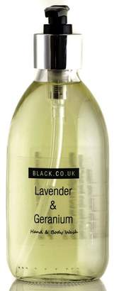 Black Lavender and Geranium Hand and Body Wash