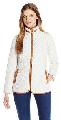 Jones New York Women's Quilted Jacket $40.75 thestylecure.com