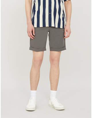 SLOWEAR Cotton-blend chino shorts