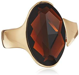 Robert Lee Morris the bigger stone brown cuff bracelet
