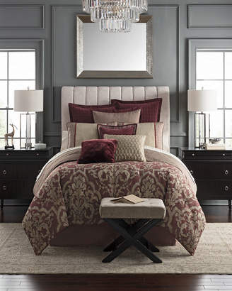 Waterford Amarah Reversible 4-Piece Queen Comforter Set