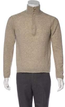 Inhabit Cashmere Button-Up Sweater