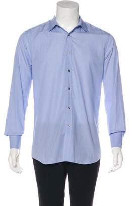 Paul Smith French Cuff Patterned Shirt